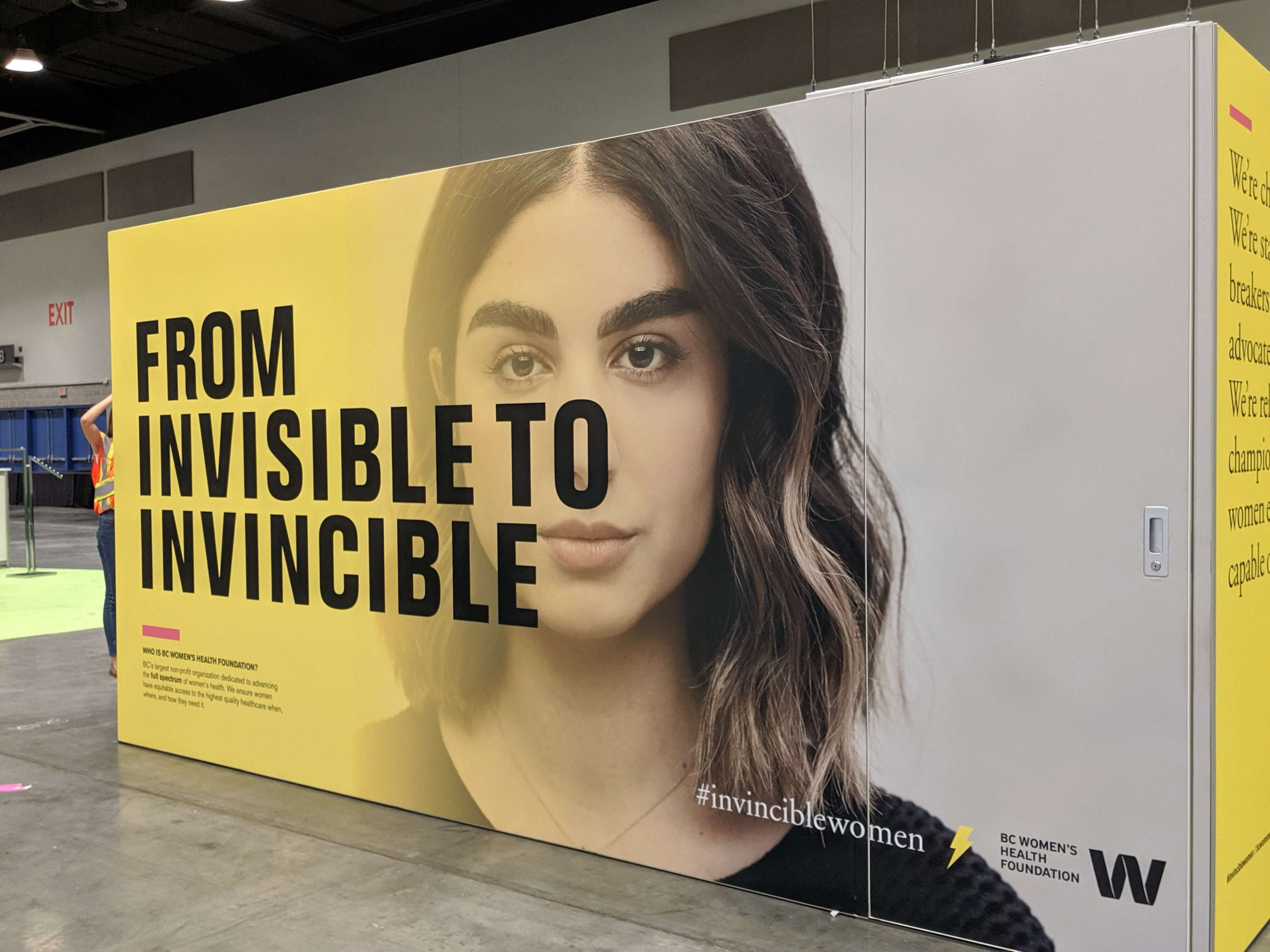 BC Women's From Invisible to Invincible