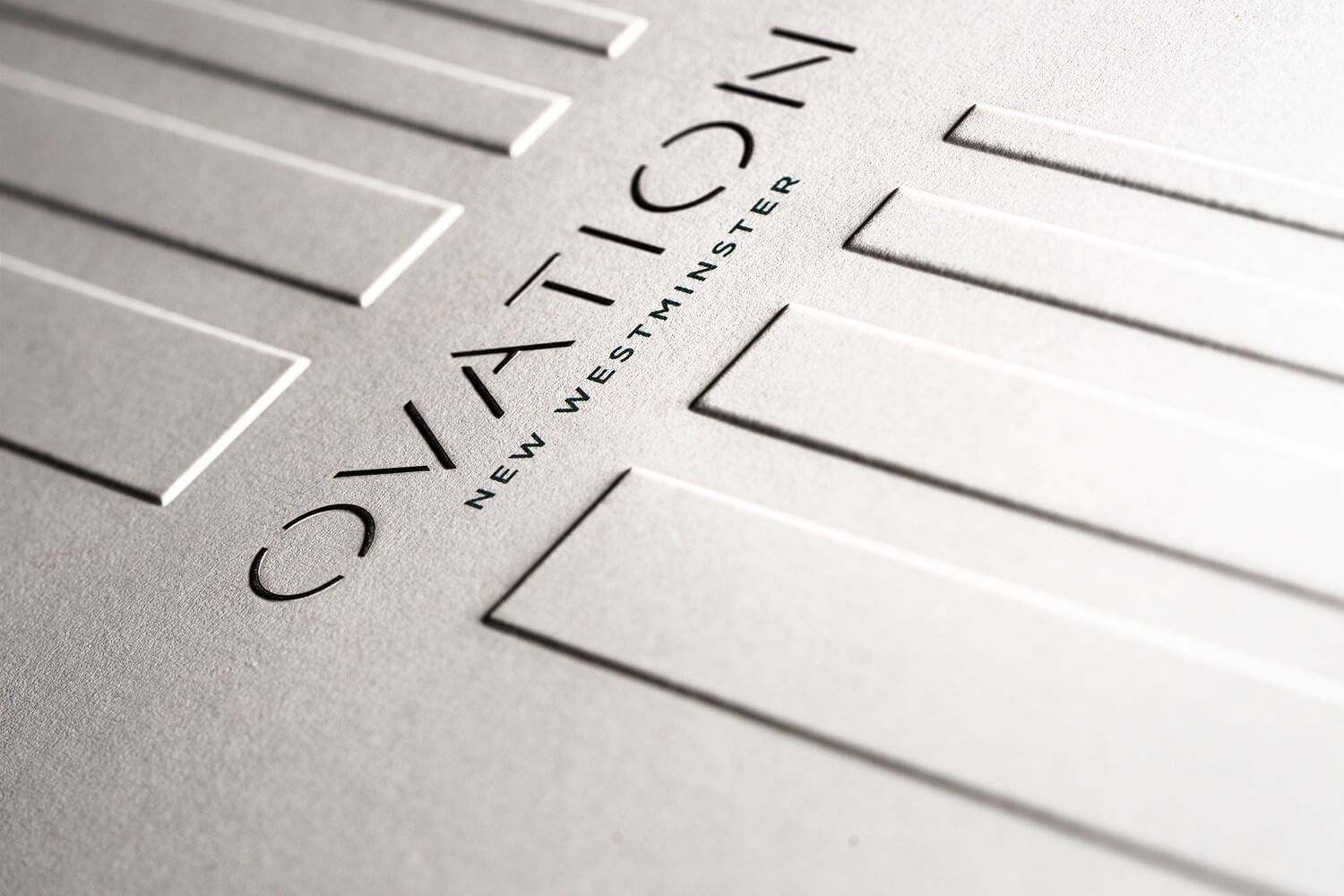 Ovation Book Embossing Detail